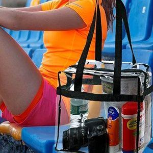 Handbags - New Transparent Tote Clear Handbag PVC